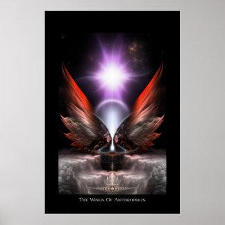 Las alas del poster archival de Anthropolis HC