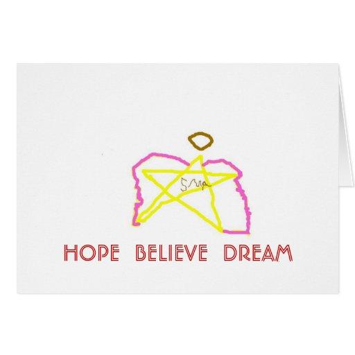 las alas rosadas protagonizan el ángel 1, ESPERANZ Felicitación