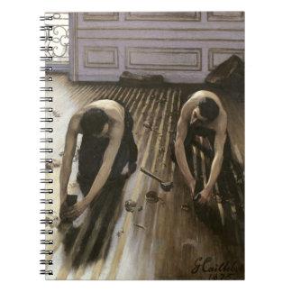 Las alisadoras del entarimado, 1875 cuadernos