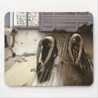Las alisadoras del entarimado, 1875 alfombrilla de ratón
