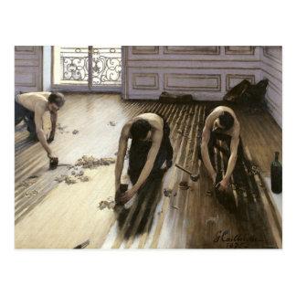 Las alisadoras del entarimado, 1875 postal