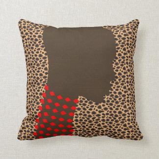 Las almohadas de tiro para el diseño grosero de la