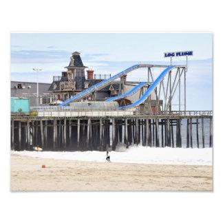 Las alturas de la playa frecuentaron la mansión impresión fotográfica