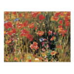 Las amapolas de Roberto Vonnoh, vintage florecen f