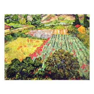 Las amapolas de Vincent van Gogh Anuncio Personalizado