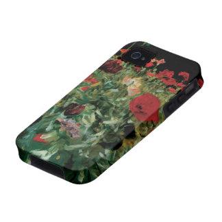 Las amapolas por Sargent, vintage florecen arte Case-Mate iPhone 4 Carcasa