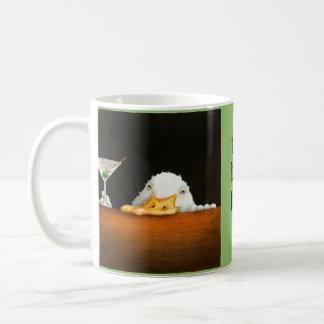 Las ampollas asaltan la cuenta de barra taza de café