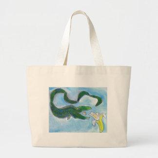 ¡Las anguilas comen plátanos! Bolsa De Mano