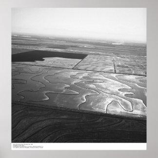 Las antenas, valle de Sacramento, arroz colocan, m Poster