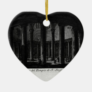 Las antigüedades romanas, T. 1, placa XXV. Santo Adorno Navideño De Cerámica En Forma De Corazón