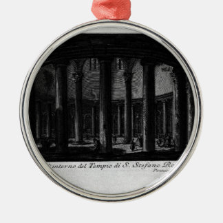 Las antigüedades romanas, T. 1, placa XXV. Santo Adorno Navideño Redondo De Metal