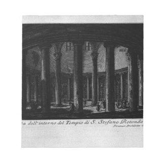 Las antigüedades romanas, T. 1, placa XXV. Santo Blocs De Notas
