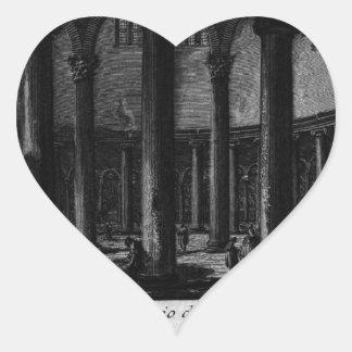 Las antigüedades romanas, T. 1, placa XXV. Santo Pegatina En Forma De Corazón