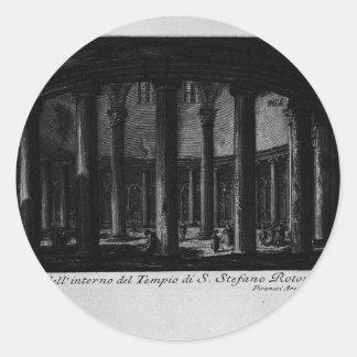 Las antigüedades romanas, T. 1, placa XXV. Santo Pegatina Redonda
