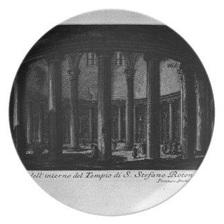 Las antigüedades romanas, T. 1, placa XXV. Santo Platos Para Fiestas