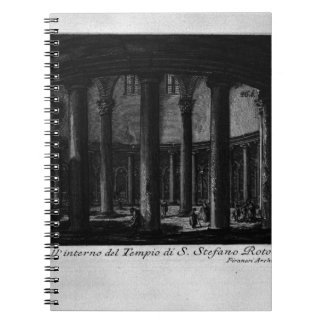Las antigüedades romanas, T. 1, placa XXV. Santo Spiral Notebooks