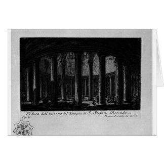 Las antigüedades romanas, T. 1, placa XXV. Santo Tarjeta De Felicitación