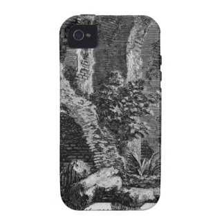 Las antigüedades romanas, T. 1, placa XXVII. Case-Mate iPhone 4 Funda