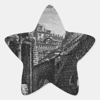Las antigüedades romanas, T. 1, placa XXX. Foro Pegatina En Forma De Estrella