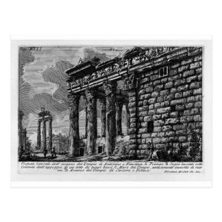Las antigüedades romanas, T. 1, placa XXXI. Templo Tarjeta Postal