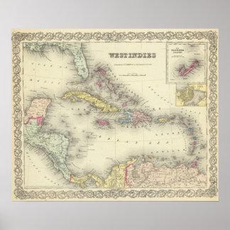Las Antillas 13 Póster