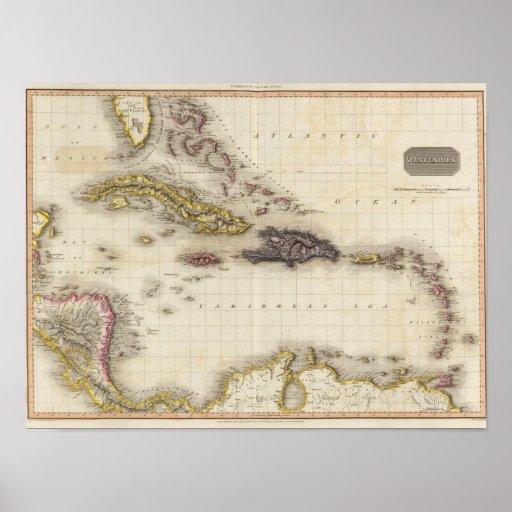Las Antillas 18 Poster