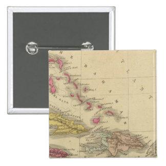 Las Antillas 5 Pins