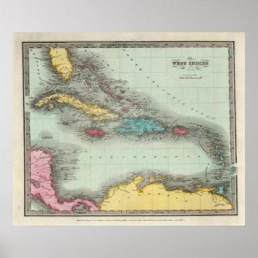 Las Antillas 8 Póster