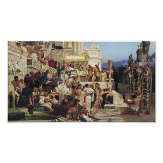 Las antorchas de Nero Poster