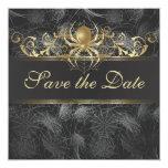 Las arañas de oro adornadas ahorran la invitación
