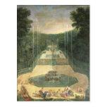 Las arboledas de Versalles Tarjeta Postal