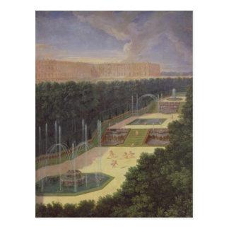 Las arboledas de Versalles Tarjetas Postales