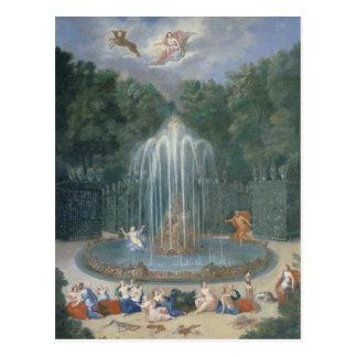Las arboledas de Versalles. Vista de la estrella o Postal
