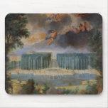 Las arboledas de Versalles. Vista de la piscina de Alfombrillas De Ratón