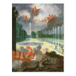 Las arboledas de Versalles. Vista de la piscina de Postales