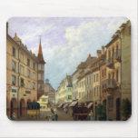 Las arcadas, ruda magnífica, Colmar, 1876 Tapete De Raton