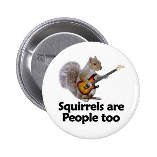 Las ardillas son gente también pin