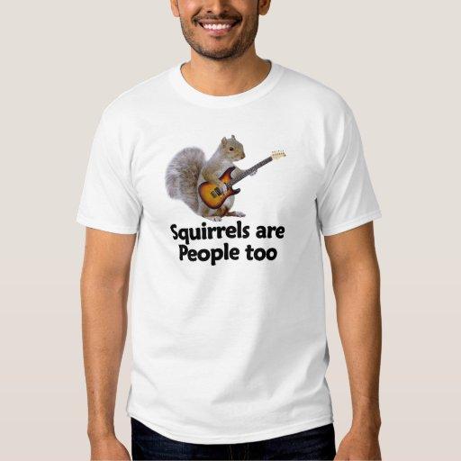 Las ardillas son gente también polera