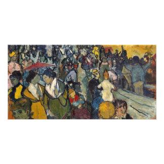 Las arenas de Arles de Vincent van Gogh Tarjetas Fotograficas Personalizadas