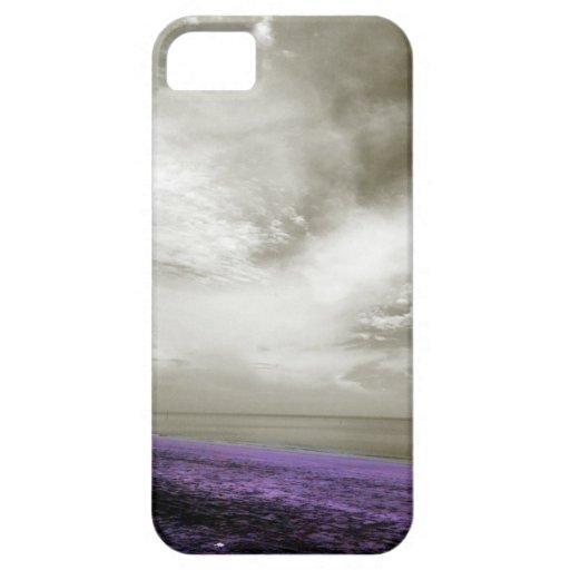Las arenas de la púrpura iPhone 5 fundas