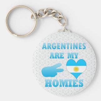 Las argentinas son mi Homies Llavero