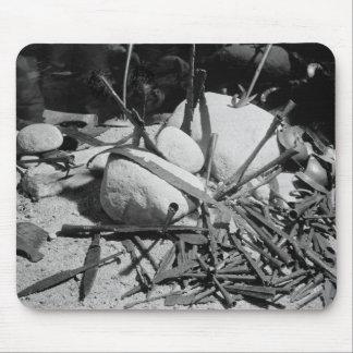 Las armas anglosajonas encontraron junto al Nydam Alfombrillas De Raton