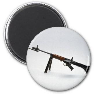 Las armas de la guerra mundial de la Segunda Guerr Imán Redondo 5 Cm