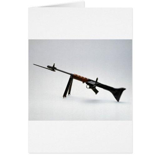 Las armas de la guerra mundial de la Segunda Guerr Tarjeta De Felicitación
