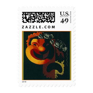 Las artes interpretativas de las máscaras de la sellos