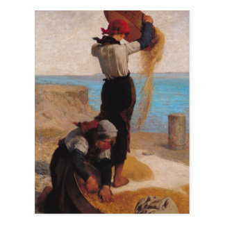 Las aventadoras, 1869 postales