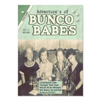 """Las aventuras de la edición #2 de los bebés de invitación 5"""" x 7"""""""