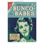 Las aventuras de los bebés de Bunco Tarjeta De Felicitación