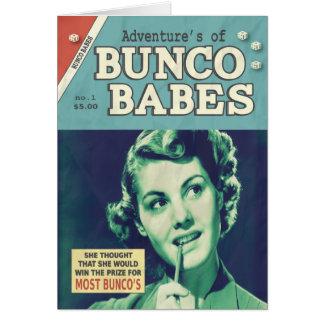 Las aventuras de los bebés de Bunco Tarjetón