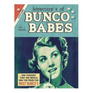 Las aventuras de los bebés de Bunco Tarjeta Postal